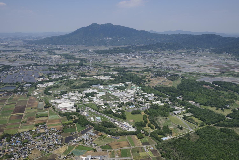 写真1 KEKつくばキャンパス 航空写真