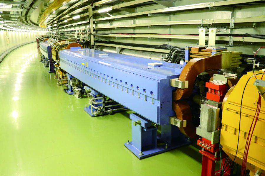 Photo 3:Main ring of synchrotron at J-PARC